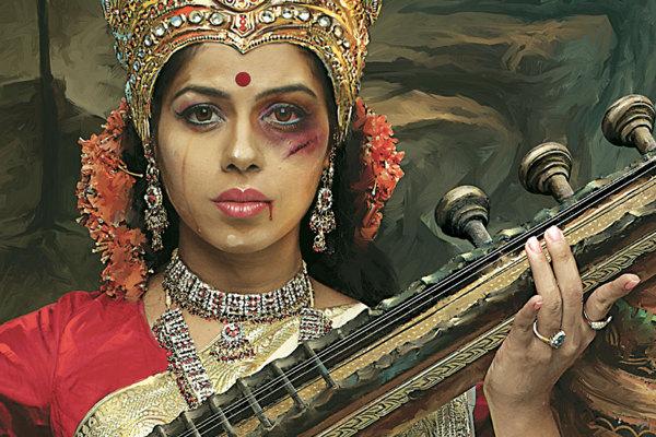 domestic-violence-goddesses-saraswati