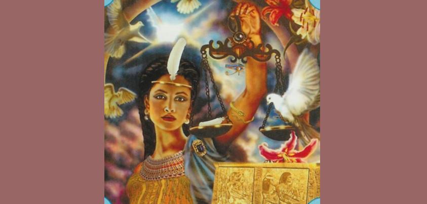 MEDITAÇÕES NO DIVINO FEMININO: DEUSA MAAT