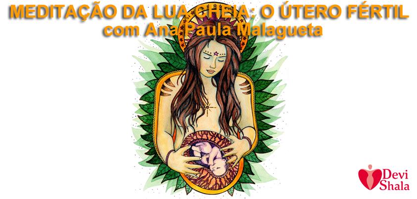 CASA DA DEUSA: MEDITAÇÃO DA LUA CHEIA
