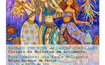 SAGRADO FEMININO EM DANÇAS CIRCULARES – EDIÇÃO DE FÉRIAS 2017