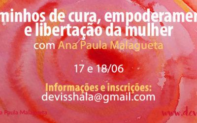 CURSO – CAMINHOS DE CURA, EMPODERAMENTO E LIBERTAÇÃO DA MULHER